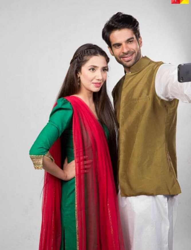 Mahira Khan with  Adnan Ansar Image