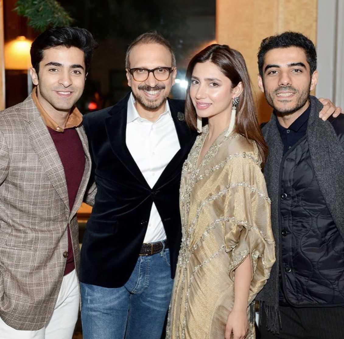 Mahira Khan with Co-Artist Photo