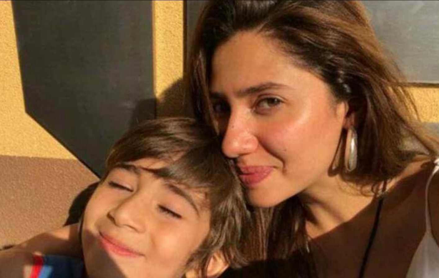 Mahira Khan with her Son Photo