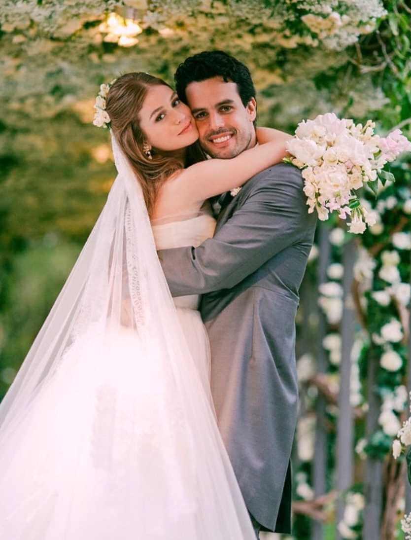 Marina Ruy Barbosa Wedding Photo