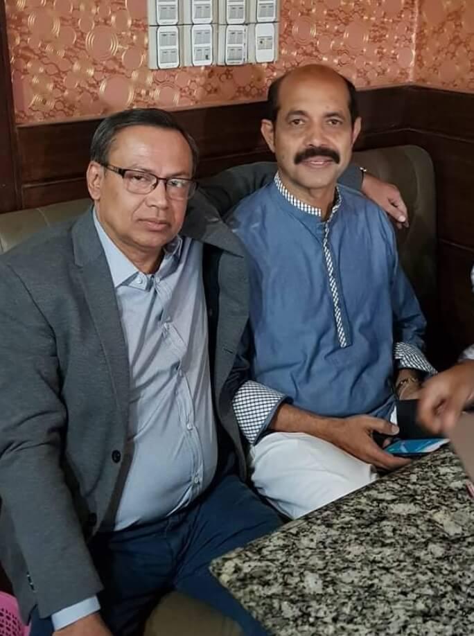 Nasir Uttara Club and Dhaka Meor Aiqul Haque