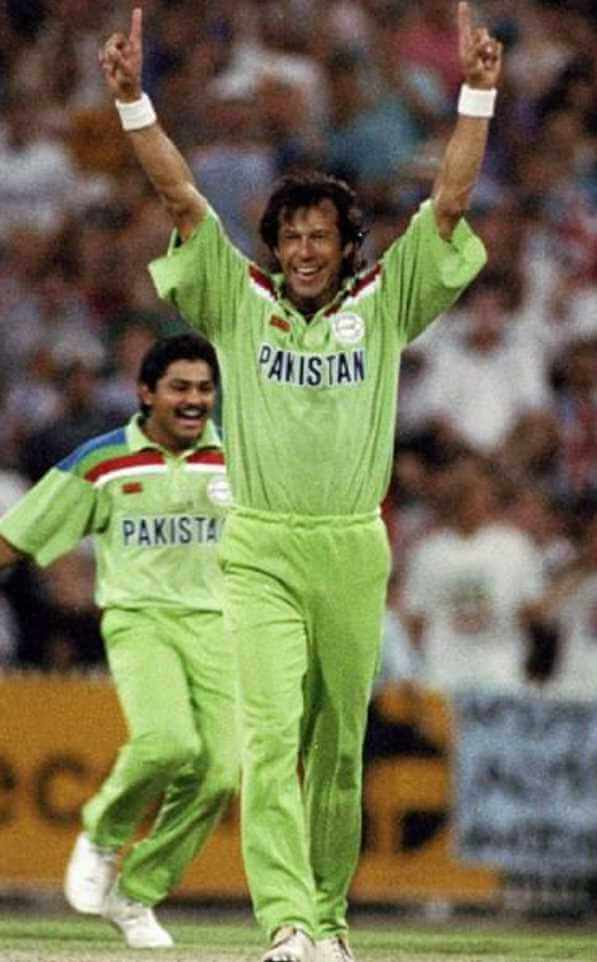 Prime Minister Imran Khan Cricket Picture