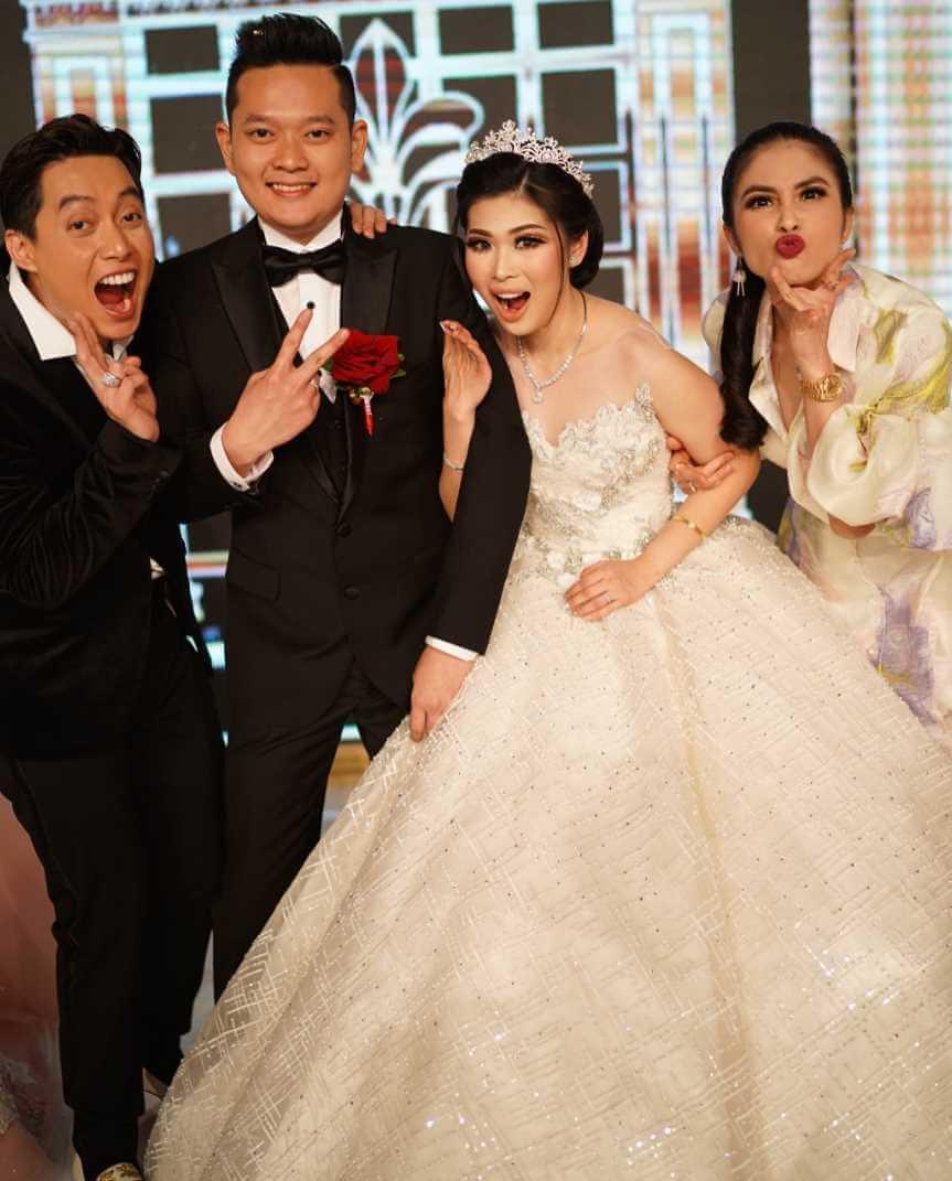 Sandra Dewi Wedding Pic