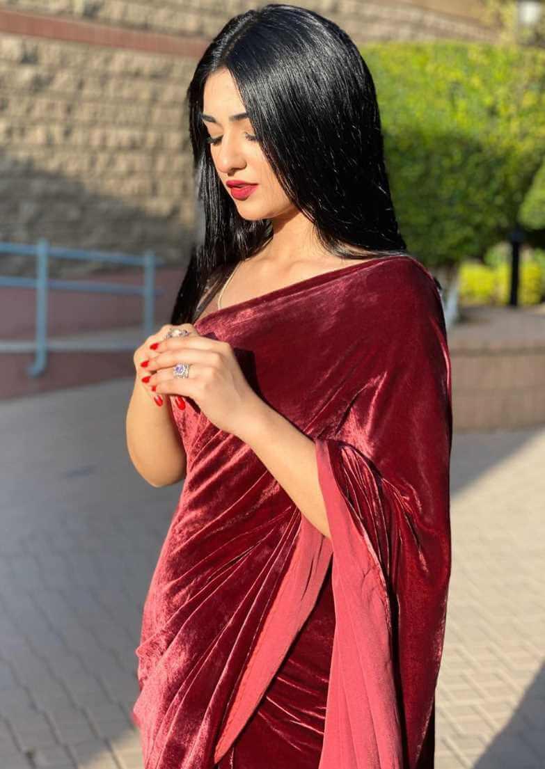 Sarah Khan Saree Image hd