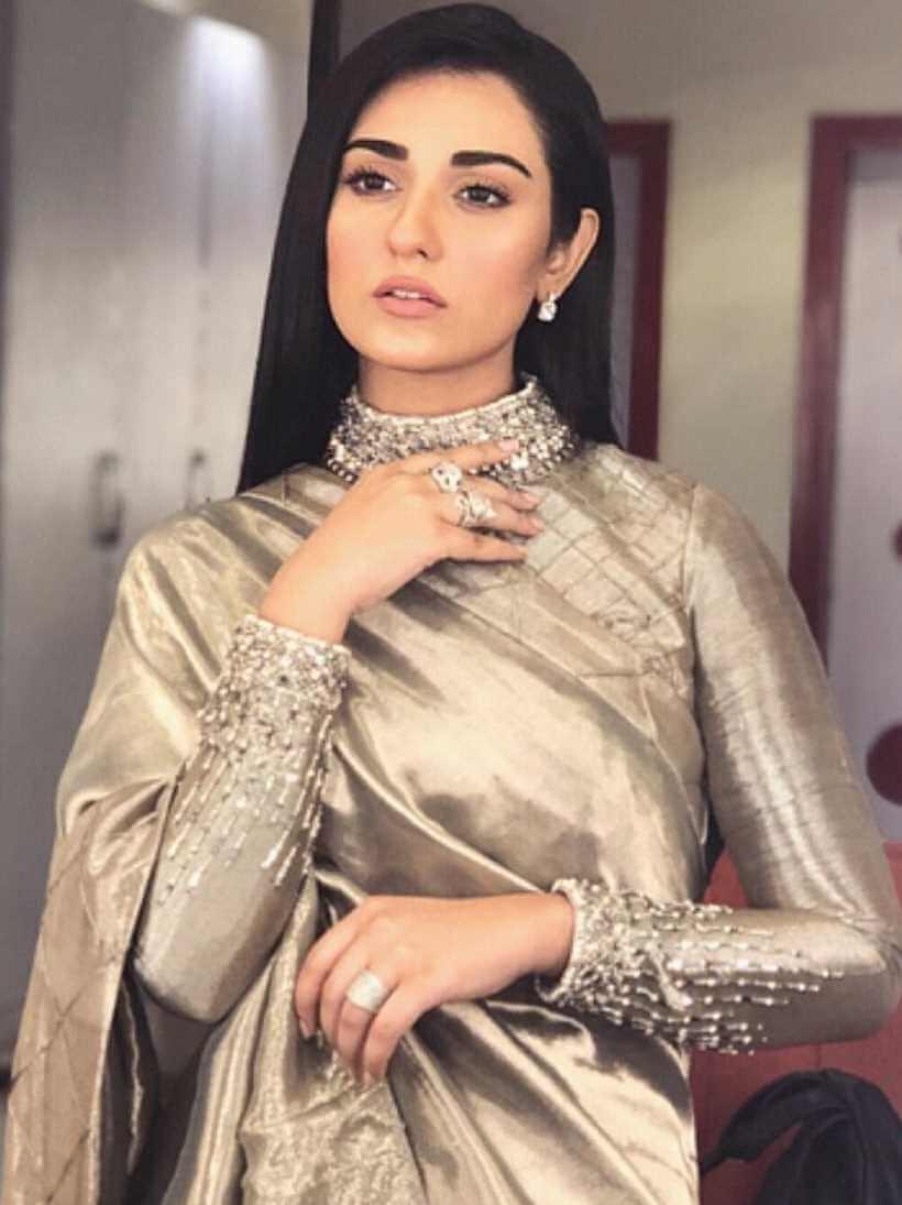 Sarah Khan Saree Image