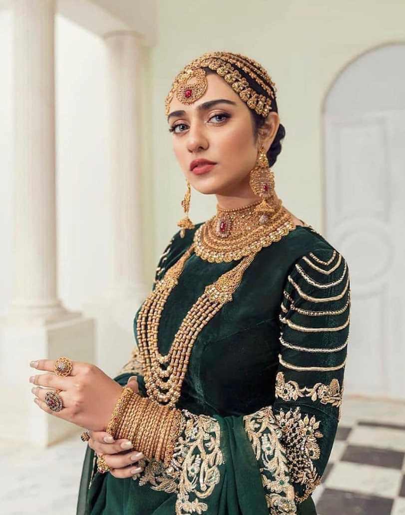 Sarah Khan Nice Wedding Photo