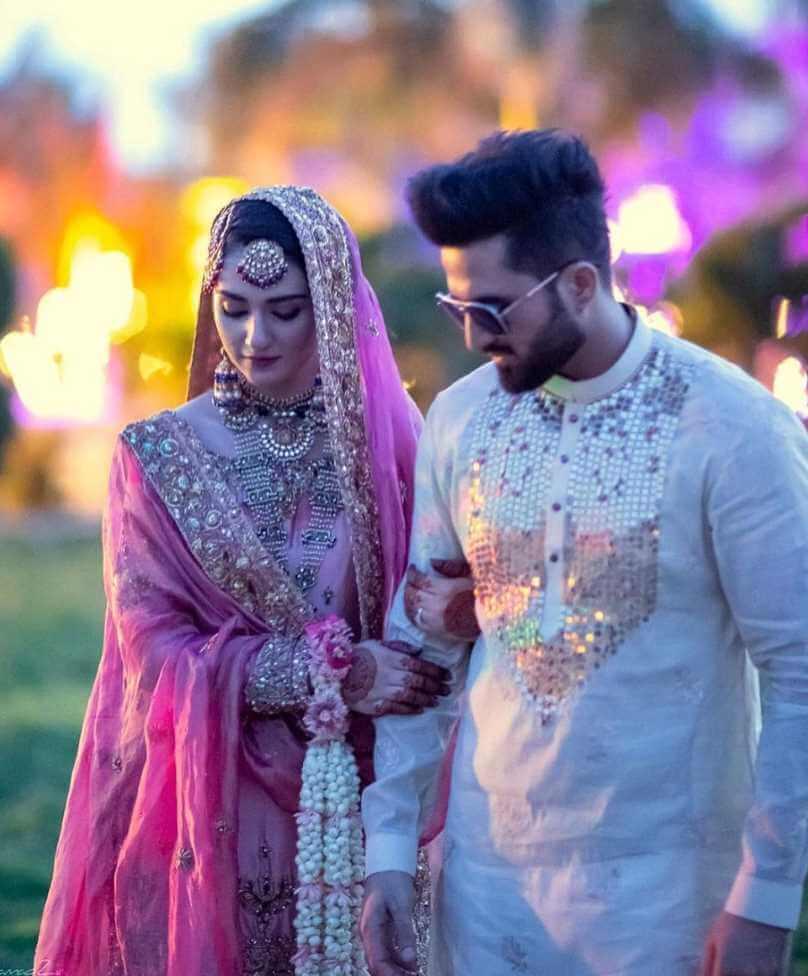 sarah khan marriage photos