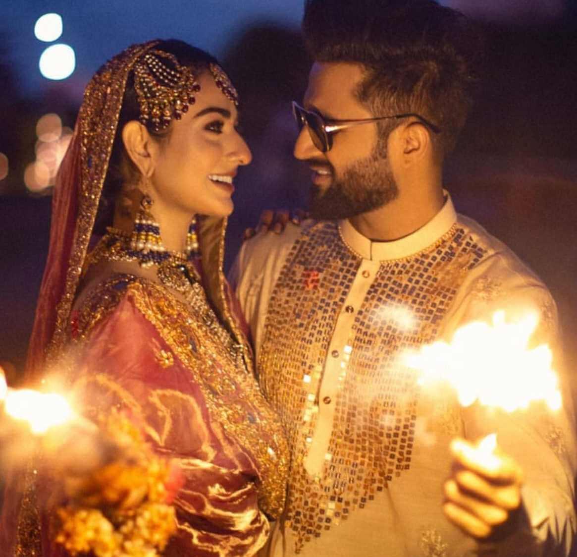 sarah khan marriage photo