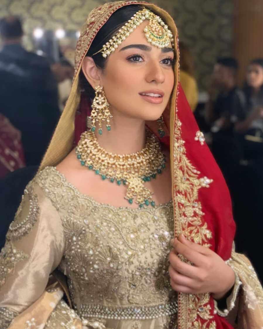 Sarah Khan Wedding Pic