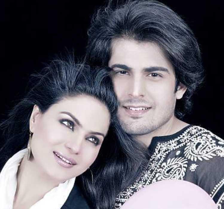 Veena Mailk with Babrak Shah Image