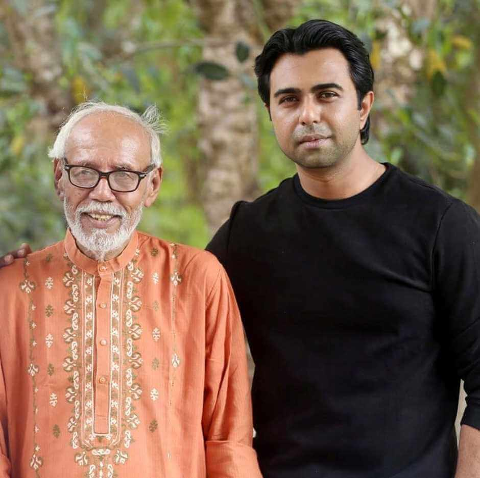 Ziaul Faruq Apurba with A.T.M. Shamsuzzaman