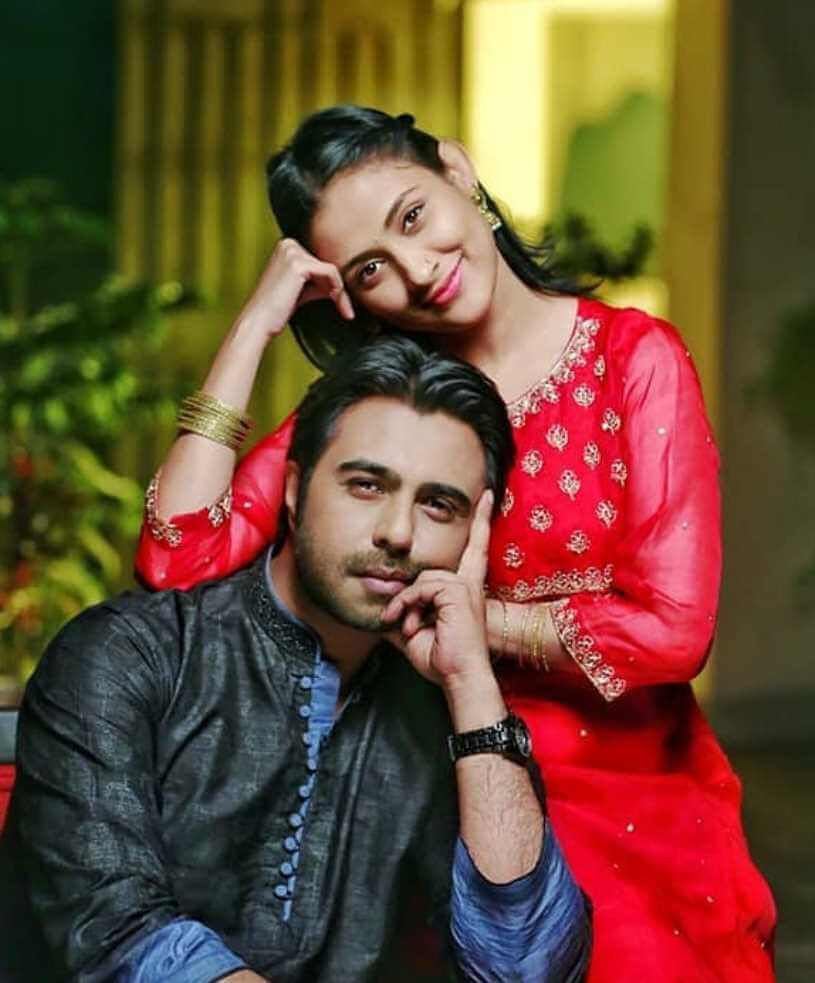 Ziaul Faruq Apurba with Mehazabien Chowdhury Photo