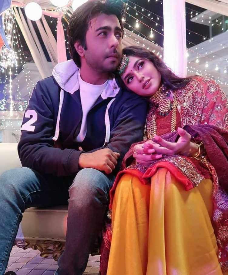 Ziaul Faruq Apurba with Nusrat Faira Pic