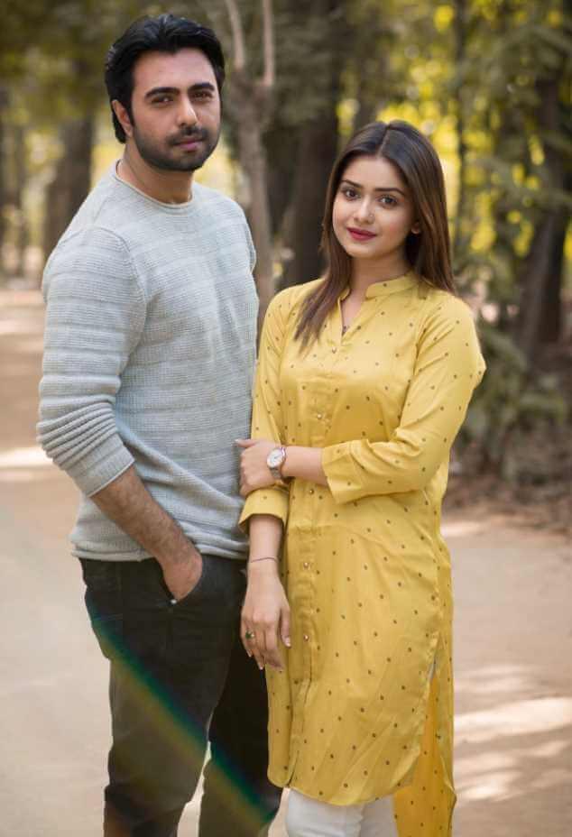 Ziaul Faruq Apurba with Tanjin Tisha Picture