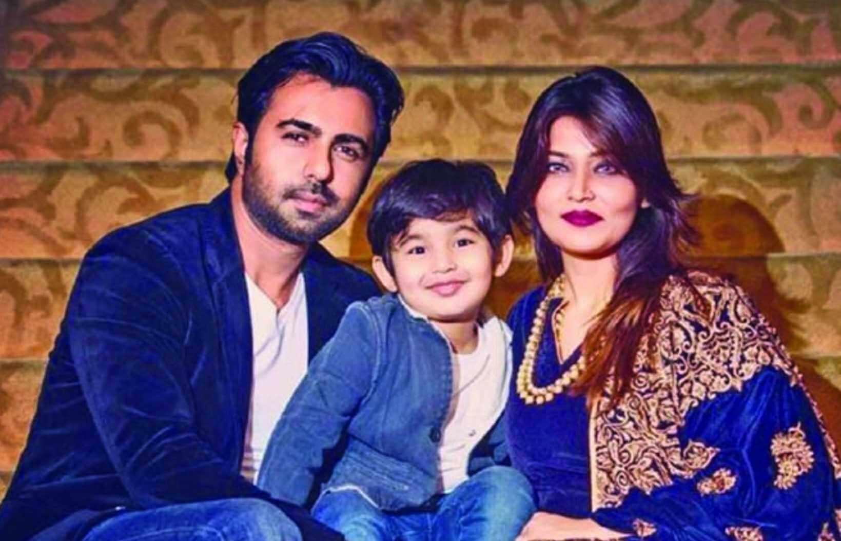 Ziaul Faruq Apurba with her Family Photo