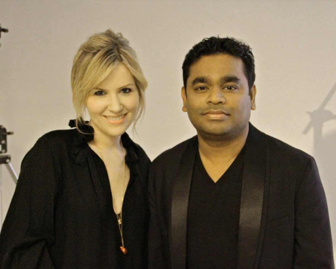 Dido with A R Rahman Photo