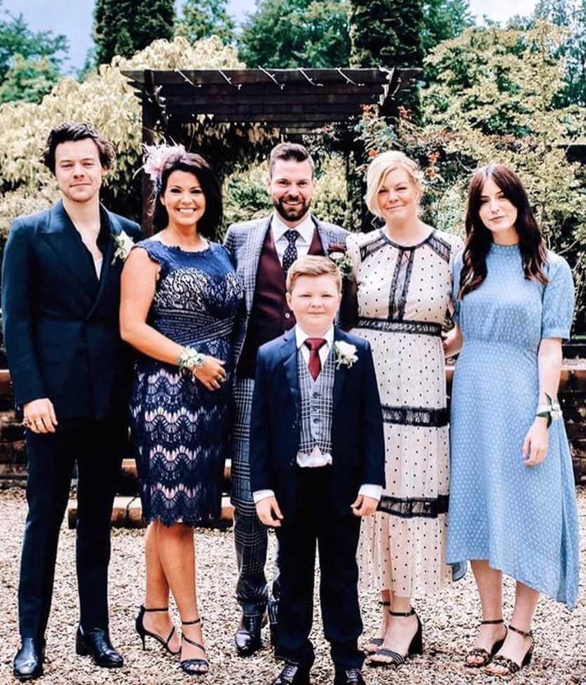 Gemma Styles Family Photo