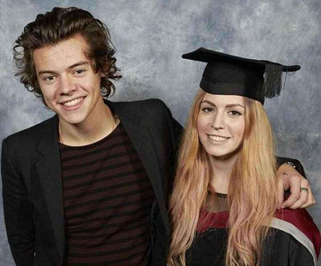 Gemma Styles with her Brother Harry Styles Photo