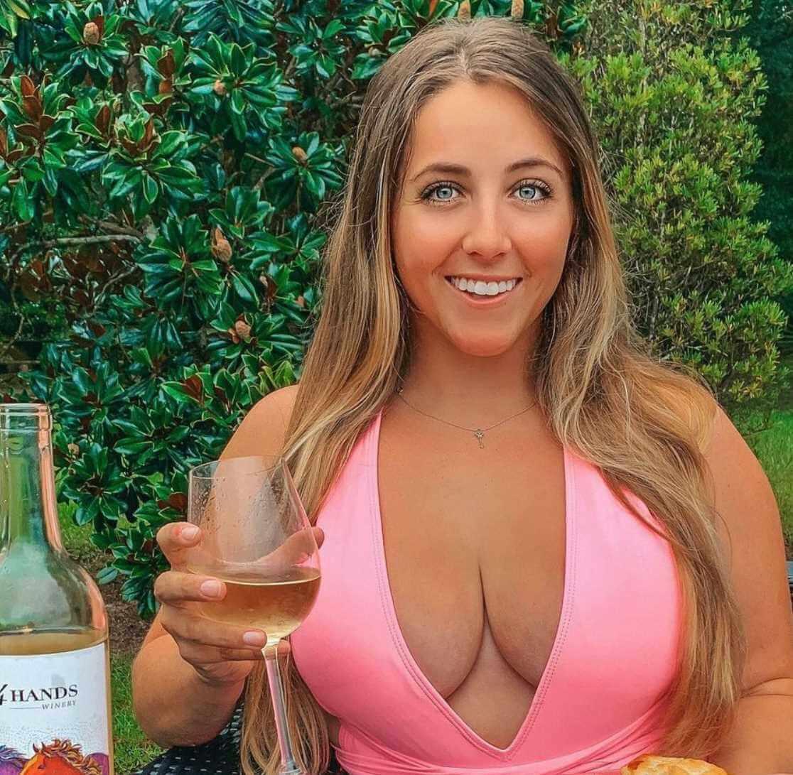 Katherine Salom with Drink Photo